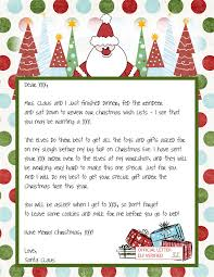 Free Letter Template From Santa North Pole Valid Letter From Santa