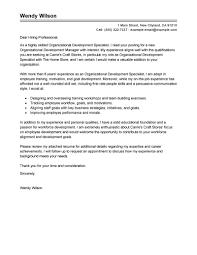 Sample Cover Letter For Leadership Development Program