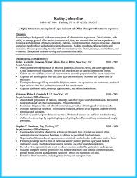 Attorney Resume Samples On Resume Categories