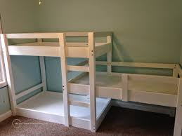 bunk beds  corner twin bed unit corner bunk beds for four ikea