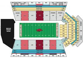 Rrs Razorback Stadium Seating Chart