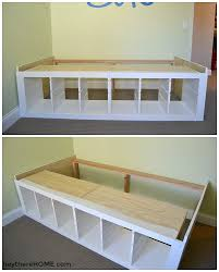 ikea storage bed. Contemporary Ikea IKEA Hack  DIY Twin Storage Bed Throughout Ikea S