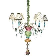 thistle chandelier mackenzie childs lamp shades
