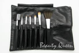 5 sets per lot of 7 pieces makeup brust set with free holder black bag high quality at an amazing