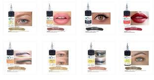 organic permanent makeup pigment what