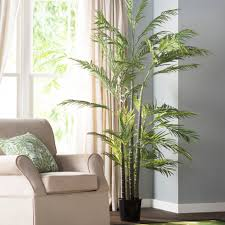 Palm Tree Decor For Living Room Faux Areca Palm Tree In Pot Reviews Joss Main