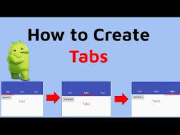 Android Tabs Android Tab Tutorial Android Studio Tab Fragments Youtube