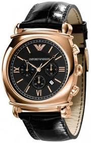 emporio armani ar0321 mens rose gold watch wrist watch £145 00 by rose gold