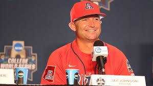 Arizona Baseball HC Jay Johnson Extended Through 2022 - University of  Arizona Athletics