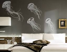 Small Picture Jellyfish Wall Sticker Set Contemporary Wall Stickers