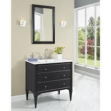 fairmont designs charlottesville 36 vanity for integrated sinktop vintage black free modern bathroom