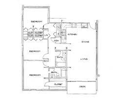 Horizon Floorplan: 3 Bedroom 1230 Sq Ft