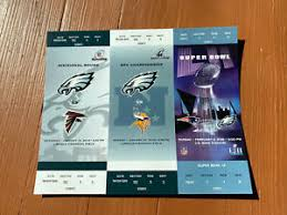 In 1992, bring it home for jerome became philly's rallying cry. Philadelphia Eagles Super Bowl Nfl Tickets For Sale Ebay