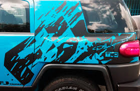 Product: Toyota FJ Cruiser mud splash Decal Sticker