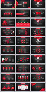 30 Red Black Business Design Powerpoint Templates The Highest