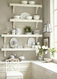 kitchen best white wall shelves for modern