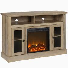 astounding corner tv stand with fireplace home depot on black corner fireplace tv stand petite ameriwood home chicago