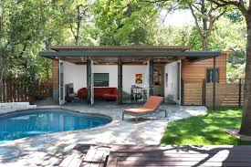 modern guest house. Perfect House Travis Heights  Guest House Contemporarypool With Modern T