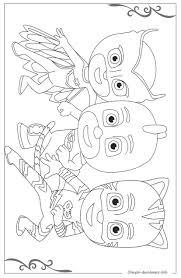Pj Masks Super Pigiamini Giochi Da Colorare Online E Disegni Da