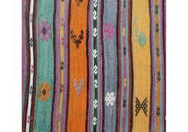 vintage kilim rug sivas 5 8 x 10 feet