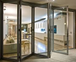 exterior glass door and exterior folding aluminum glass bi fold door 11