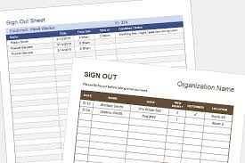 Equipment Checkout Form Template Excel Equipment Sign Out Sheet Tool Check Out Form