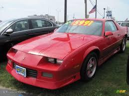 1991 Bright Red Chevrolet Camaro RS #51425447 Photo #14 | GTCarLot ...