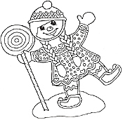 Small Picture Gingerbread Friends Coloring Mural