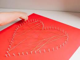 String Art Modern String Art Heart Hgtv