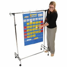 Classroom Essentials Pocket Charts Stands