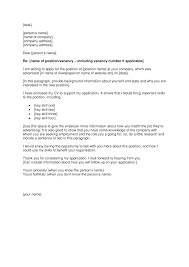 Cover Letter Format For Job Download