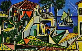 terranean landscape painting by pablo picasso terranean landscape painting by pablo picasso