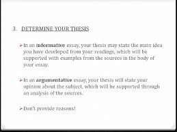 synthesis essay florida standards assessments florida standards  determine your thesis  in an informative essay your thesis state the