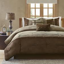 image of brown comforter sets