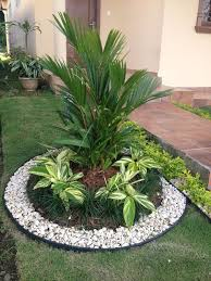 garden decoration. Garden Decoration Idea Pebbles
