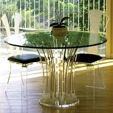 modern acrylic furniture. Carousel Acrylic Dinette Table Modern Furniture H.studio Fashion