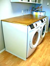 washing machine countertop washing machine also laundry room over washer and dryer plywood experimental diy washing