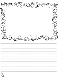 Christmas Writing Paper Template Free Christmas Note Paper Template Free Christmas Letter Templates