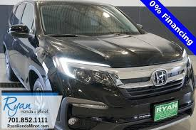 Subject to credit approval with honda financial, vehicle insurance approval, and vehicle availability. New Honda Pilot In Minot Ryan Honda Of Minot