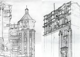 architecture buildings drawings. Unique Buildings 012travelsketchesmumbai With Architecture Buildings Drawings