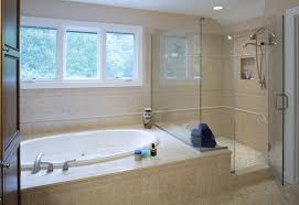 Corner combo tub and shower ideas