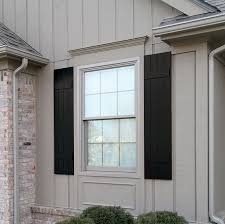 black exterior shutters. Exellent Exterior Custom Exterior Shutters Houston  Outdoor Wood  The Shade Shop  Houston TX To Black A
