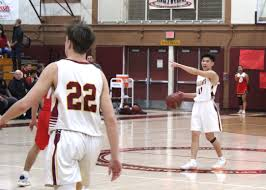 carson nguyen points the way for ocean view as the seahawks defended their lead in the golden west league last friday defeating garden grove tribune