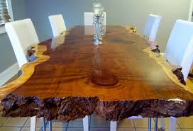 Redwood Slab Dining Table Live Edge Dining Table Redwood Dining Table Wood Slab