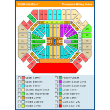 Thompson Boling Arena Concert Seating Chart 38 Described Thompson Boling Arena Seating Chart For Eagles