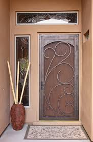 Attractive Inspiration Unique Home Designs Security Doors On