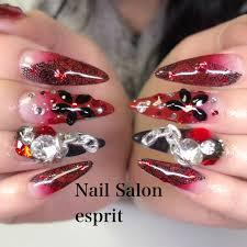 スーパーロングスカルプチュア Nail Salon Esprit 和光市練馬区隣
