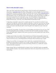 example of a good descriptive essay write self introduction essay  examples of a good descriptive essay image 6 example of a good descriptive essay