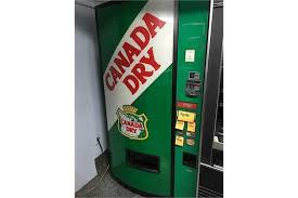 Vending Machine Canada Gorgeous CANADA DRY VENDING MACHINE