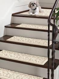 Carpet treads for steps Custom Vista Scroll Stair Treads set Of 4 Nonslip Backing Keeps These Vista Scroll Stair Treads In Place Solutionscom Vista Rugs Stair Treads Stairs Pinterest Vista Scroll Stair Treads set Of 4 Nonslip Backing Keeps These